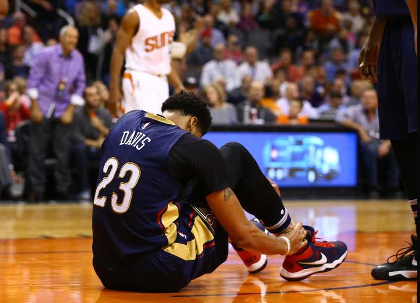Is Fear of Injury Holding Anthony Davis Back?